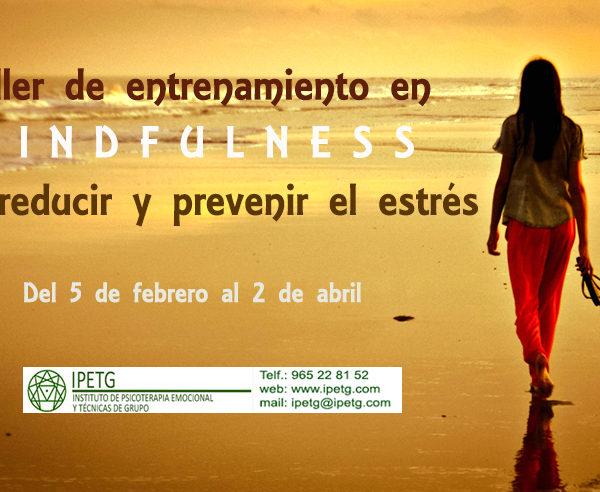 Mindfulness Alicante febrero 2019