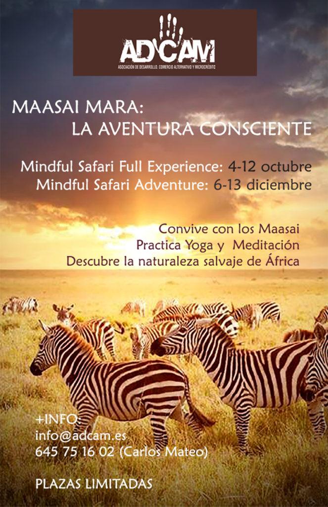Mindful Safari Maasai Mara Octubre Diciembre 2019